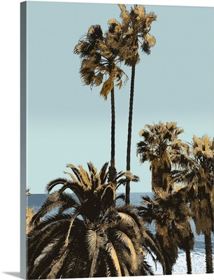 Palms And Beach I