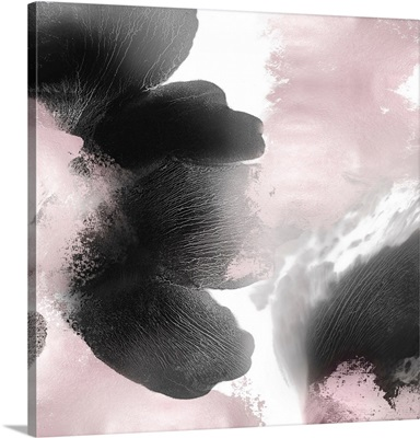 Pink Black Abstract I