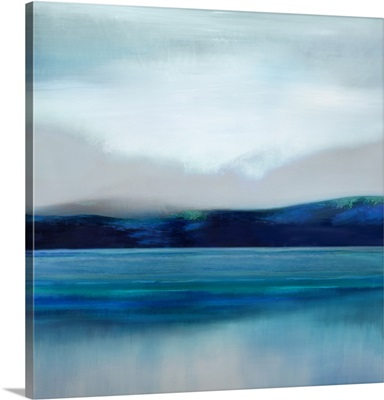 Soft Blue Horizon