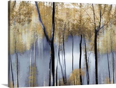 Trees And Pond Indigo