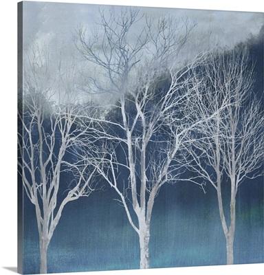 Trees Forest Indigo