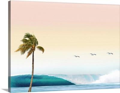 Wave And Palm II