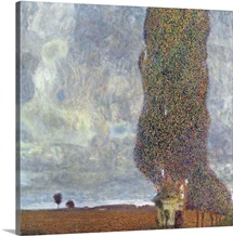 A Gathering Storm (The Grand Aspen II) By Gustav Klimt