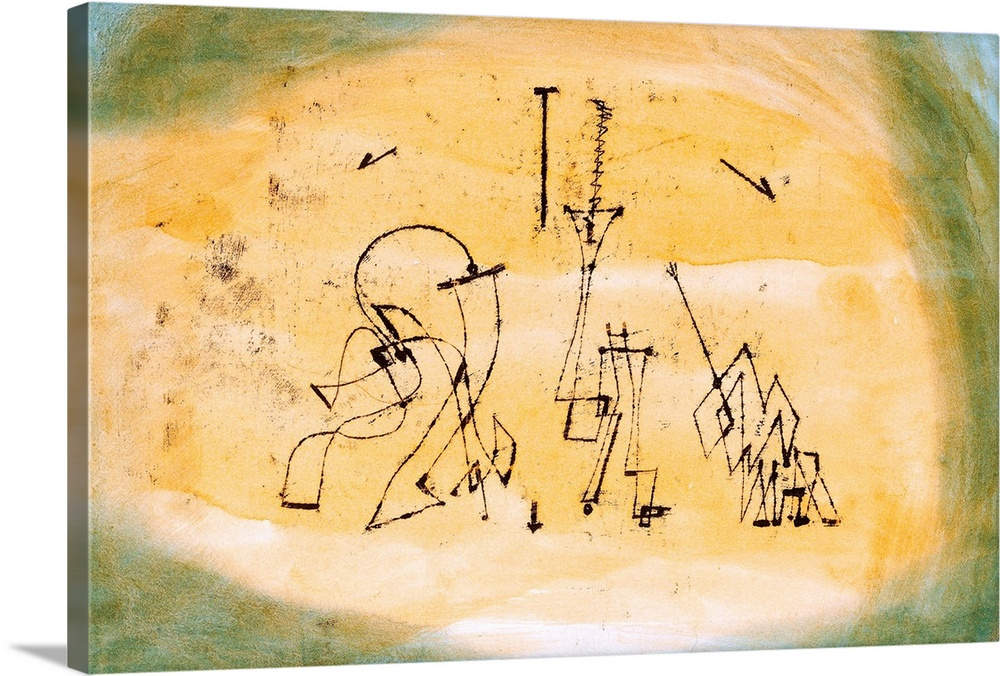 Paul Klee  Expressionism Abstract Canvas Wall Art 10