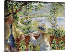 By The Water By Pierre-Auguste Renoir