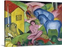 Der Traum (The Dream) By Franz Marc