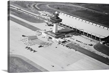 Dulles International Airport From Afar