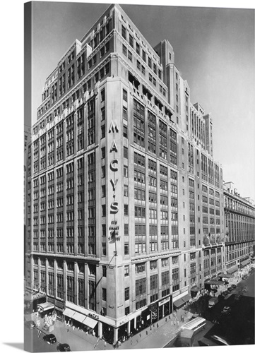 Exterior of Macy\'s Department Store Wall Art, Canvas Prints, Framed ...