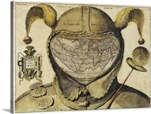 Fool's Cap World Map