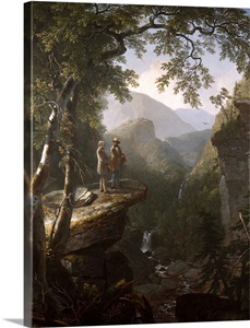 Kindred Spirits By Asher Brown Durand Wall Art Canvas
