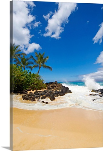 Makena Cove Also Known As Secret Beach And Wedding Maui Hawaii
