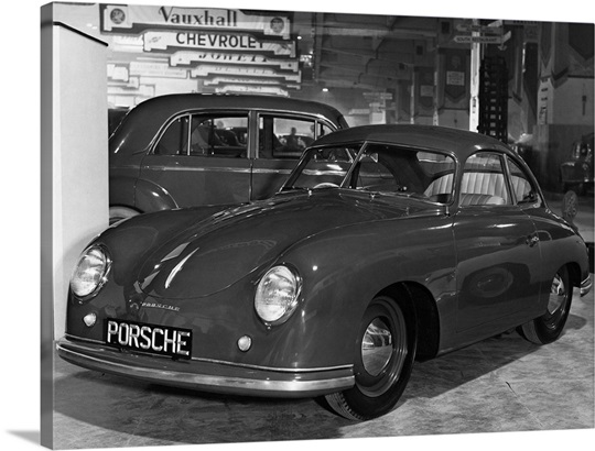 Porshe Automobile At The Motor Show Wall Art Canvas Prints Framed Prints Wall Peels Great