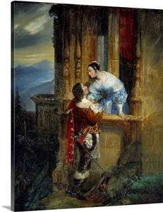 Romeo And Juliet Balcony Scene Wall Art Canvas Prints Framed Prints Wall Peels Great Big