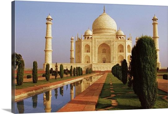 Taj Mahal Wall Art, Canvas Prints, Framed Prints, Wall Peels | Great ...