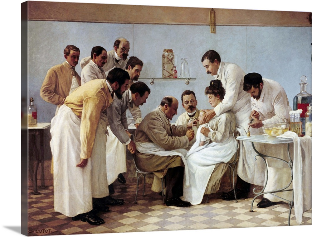 The Intubation (Le Tubage) by Georges Chicotot