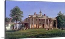 View Of Mount Vernon By Joachim Ferdinand Richardt
