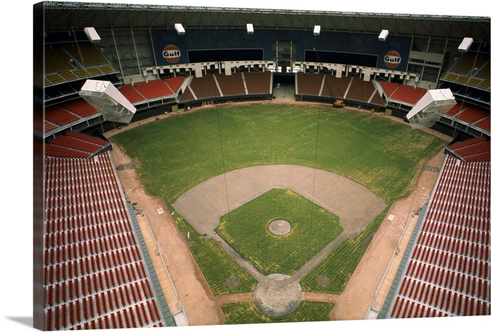View Of The Astrodome Stadium, Houston, Texas