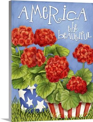 America the Beautiful Geraniums