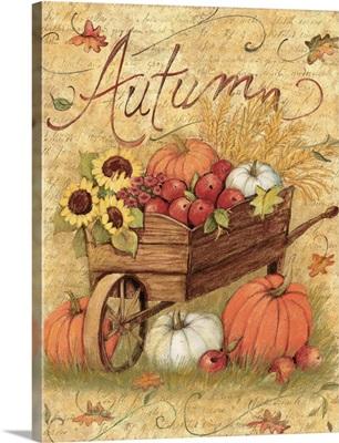 Autumn Wheelbarrow