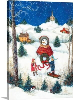 Belle the Snowman