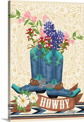 Blue Bonnet Boots