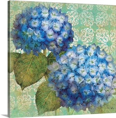 Blue Hydrangeas, Blue