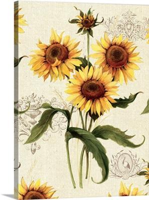 Botanical Sunflowers