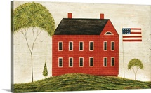 Brick Flag House