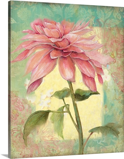 Bright Floral - Pink Flower Wall Art, Canvas Prints, Framed Prints ...