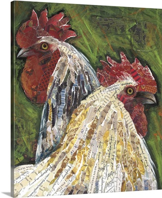 Chickens Collage