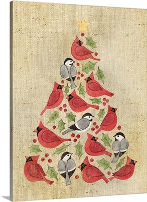Christmas Tree Cardinals
