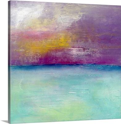 Coastal Glory - Purple Sky