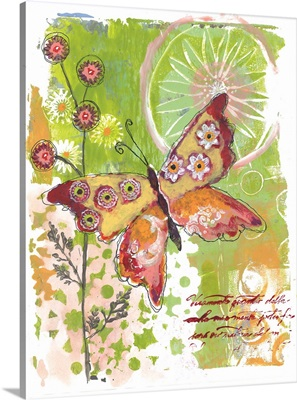 Colorful Butterfly Print