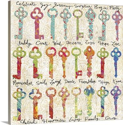 Colorful Keys - Keys with Sentiment