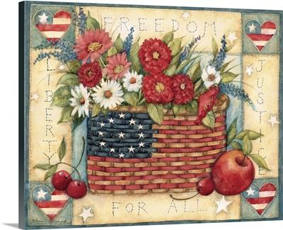 Flag Basket