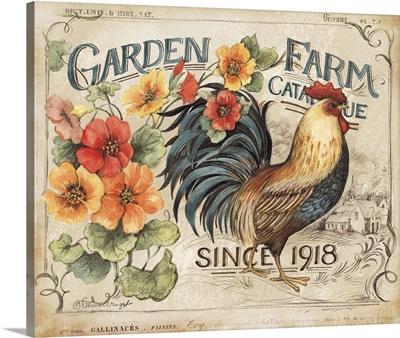 Garden Farm Rooster