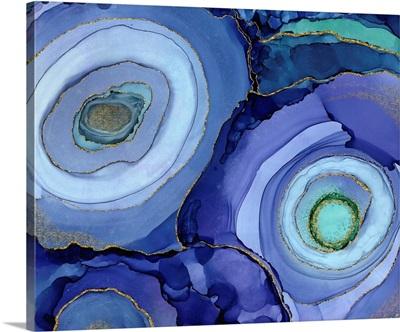 Geode Cobalt Circles