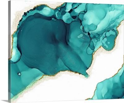 Geode Teal Burst