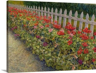 Geranium Fence