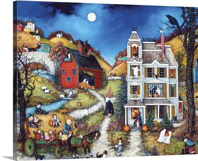 Halloween Hay Ride