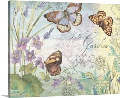 Hello Garden - Butterflies