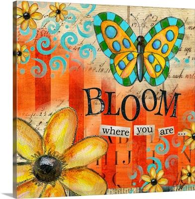 Inspiration Garden - Buttefly Bloom