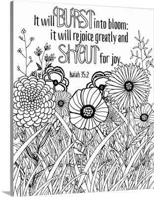 It Will Burst Into Bloom