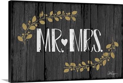 Mr. Mrs.