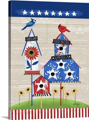 Patriotic Birdhouse