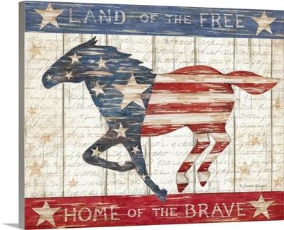 Patriotic Horse