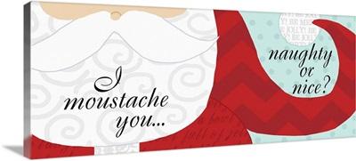 Santa Mustache and Beard