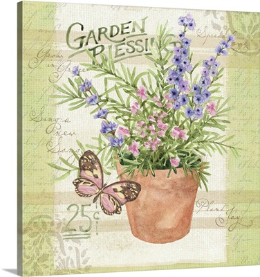 Seed Packet - Flower Pot