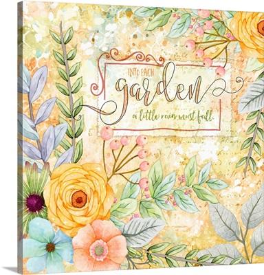 Sentiment Garden - Joy