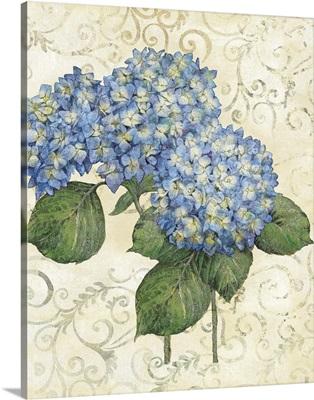 Serene Garden - Blue Hydrangea